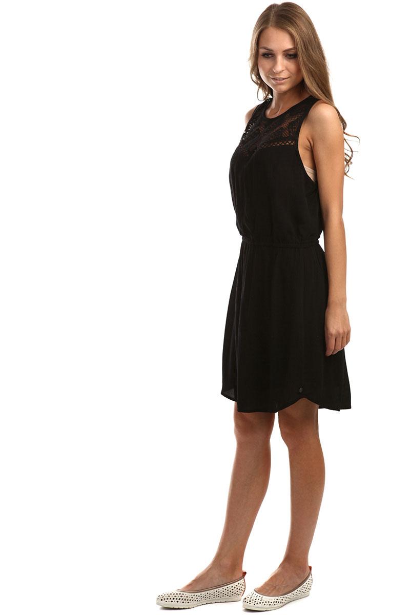 587b55ceb88 Купить платье женское Rip Curl Shelly Dress Black в интернет ...