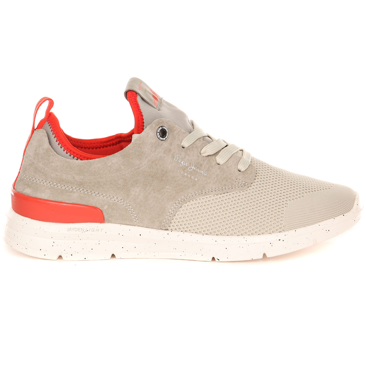 2f97eb35e22 Купить кроссовки Pepe Jeans London Jayden Tech серые в интернет ...