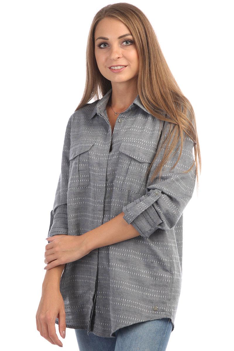 966d3c581a17 Рубашка женская Roxy Militaryinflust Dress Blues