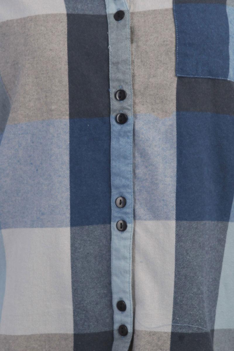 622928e60ed950c ... Рубашка в клетку женская Roxy Concretestreetc Dress Blues Square P