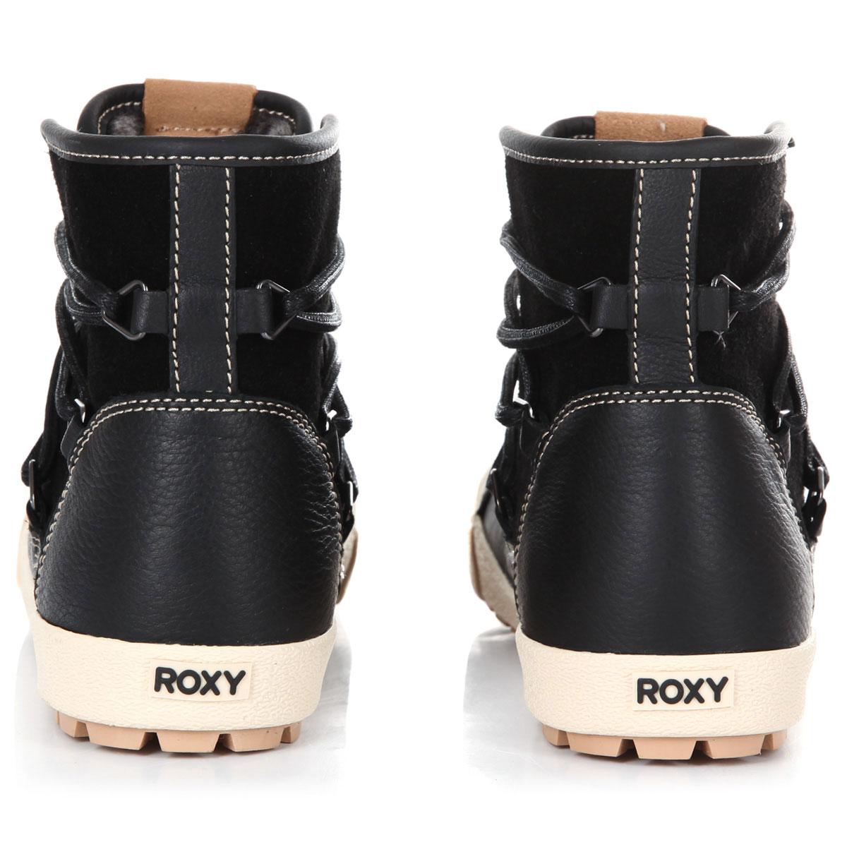 232607cbe41f Купить ботинки зимние женские Roxy Darwin Boot Black (ARJB300017-BL0) в  интернет-магазине Proskater.ru