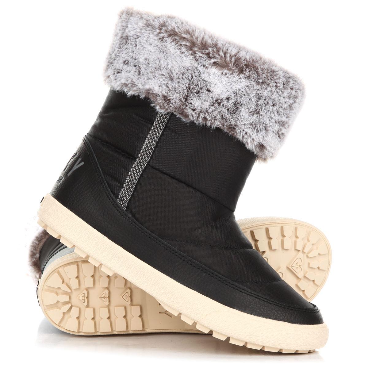 aa469f8ac301 Купить сапоги зимние женские Roxy Juneau Black (ARJB700584-BLK) в ...