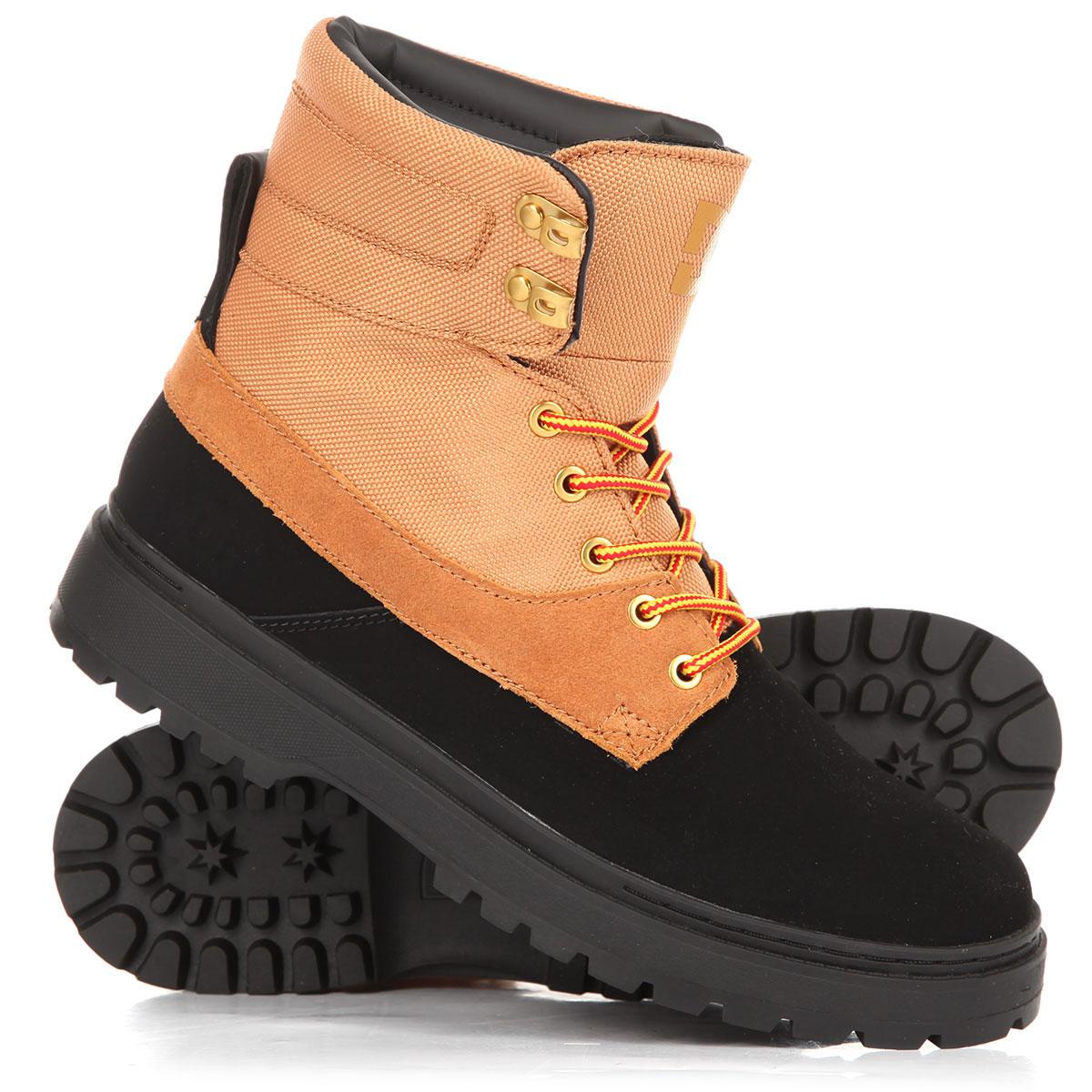 589ce7d2e931 Купить ботинки высокие DC Uncas Tr Black/Wheat (ADYB700023-KWH) в ...