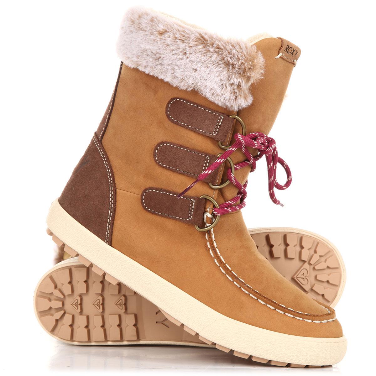 530975988f5c Купить сапоги зимние женские Roxy Rainier Ii Tan (ARJB700582-TAN) в интернет -магазине Proskater.ru