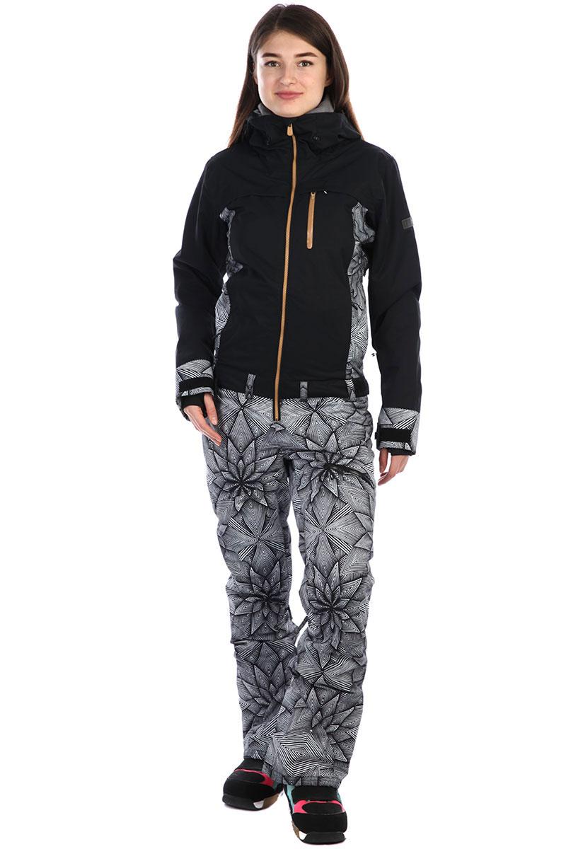2f6e4cb204c Купить комбинезон сноубордический женские Roxy Illusion Suit True Black pop  Snow (ERJTS03004-KVJ6) в интернет-магазине Proskater.ru