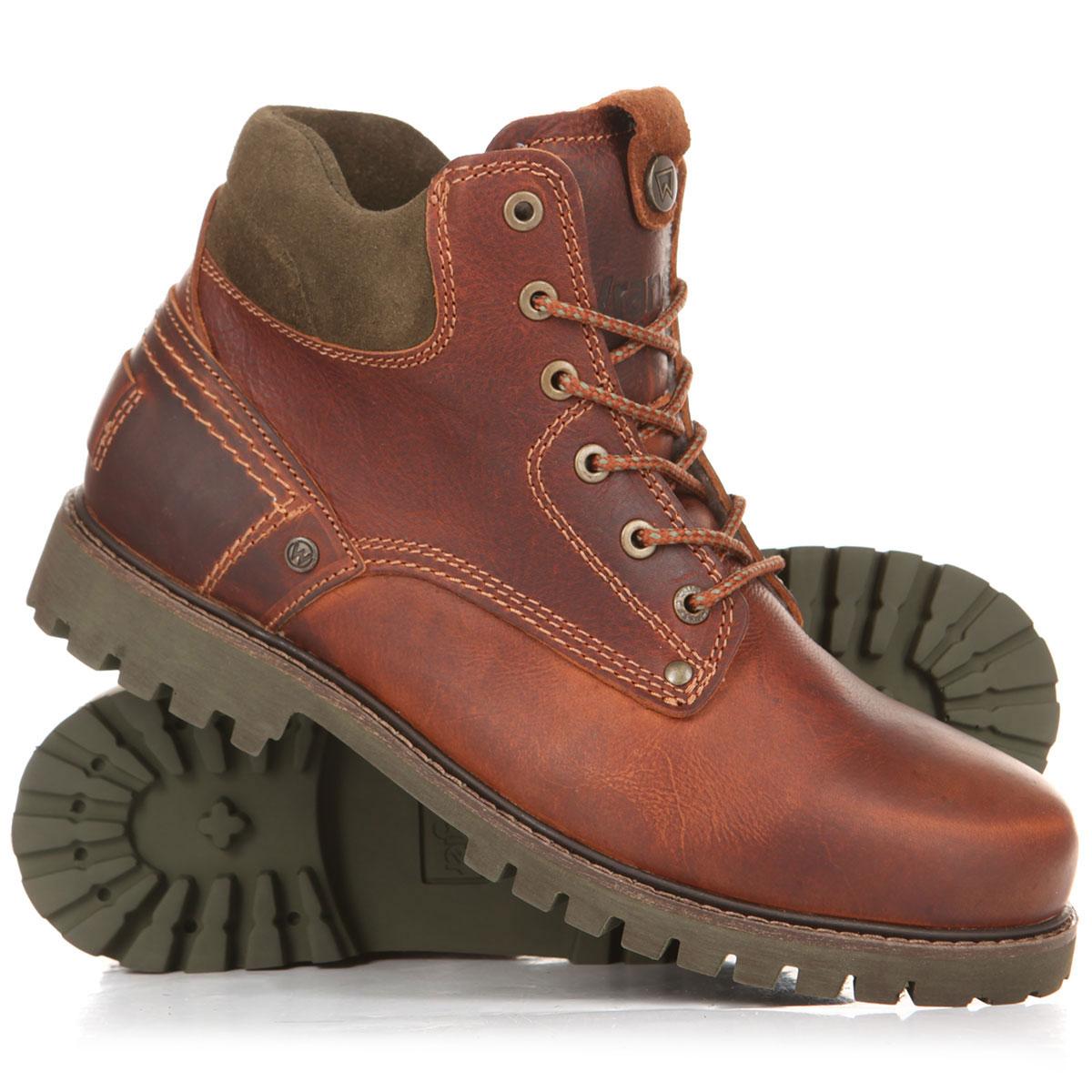 84b696827ad5 Купить ботинки зимние WRANGLER Yuma Leather Light Fur S Cognac в  интернет-магазине Proskater.ru