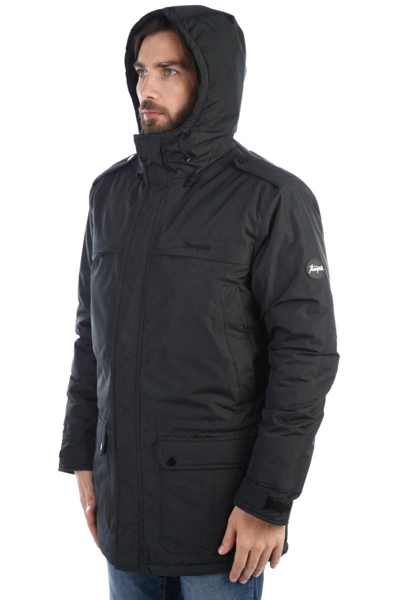 Куртка парка TrueSpin New Fishtail Black