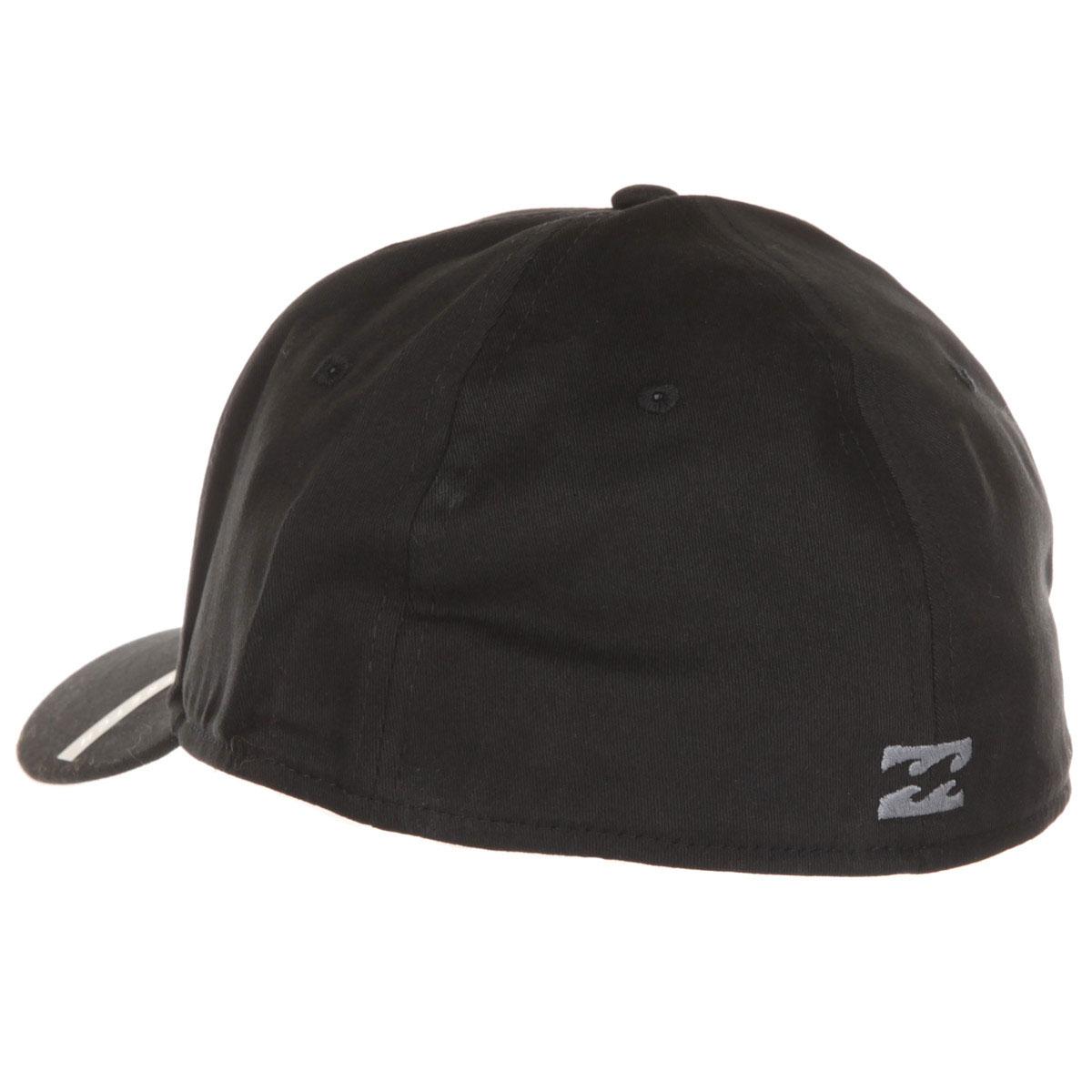 Billabong The Walled Stretch classic baseball cap All Black L5CF01-BIF8-2204