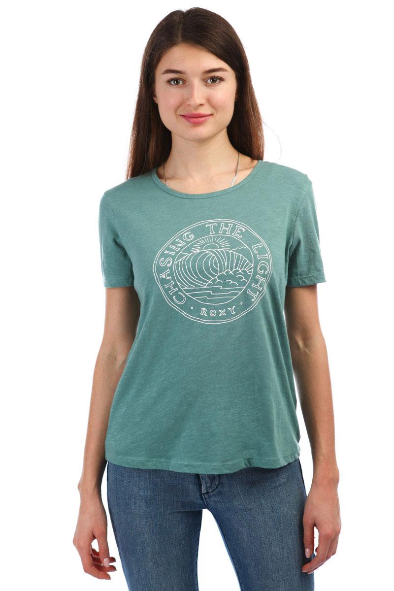cb98f6bf20c Купить футболку женскую Roxy Red Sunset Trellis (ERJZT04437-BKW0) в ...