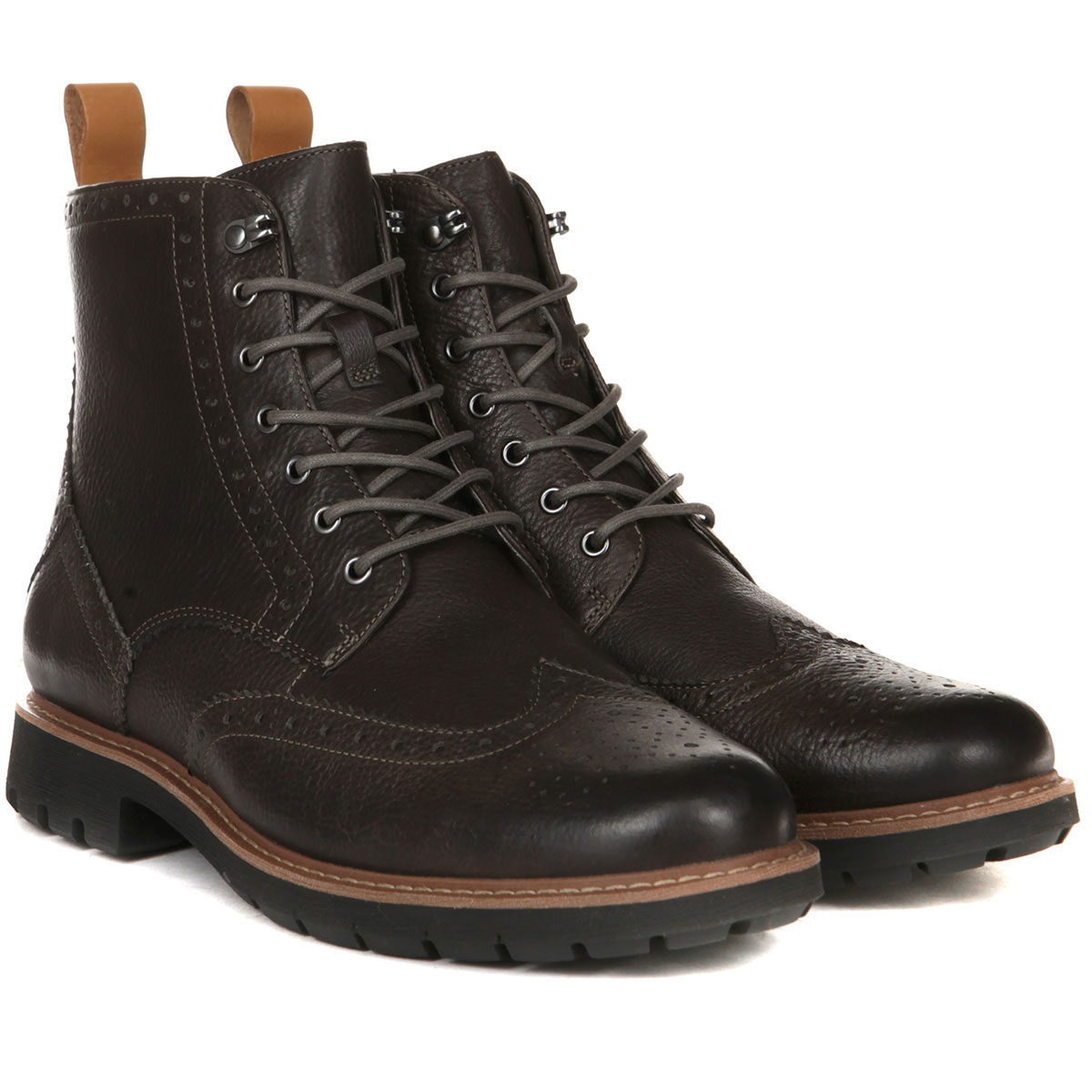 Купить ботинки Clarks Batcombe Lord серые (26137849) в интернет ... bd4e720d935d9