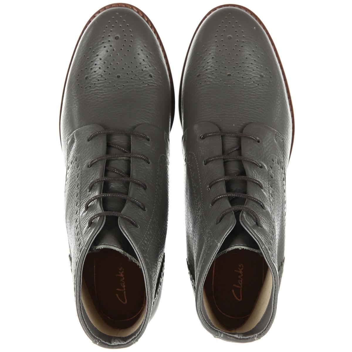 6cd38f70 Купить ботинки женские Clarks Netley Freya серые (26135186) в ...