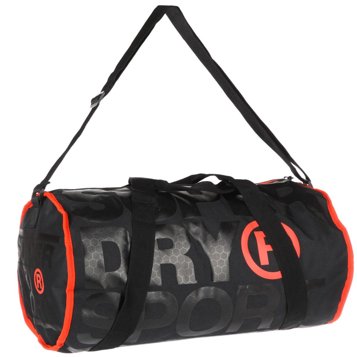 Купить сумку спортивная SuperDry Sport XL Sports Barrel Black Hazard ... 109899fd6d