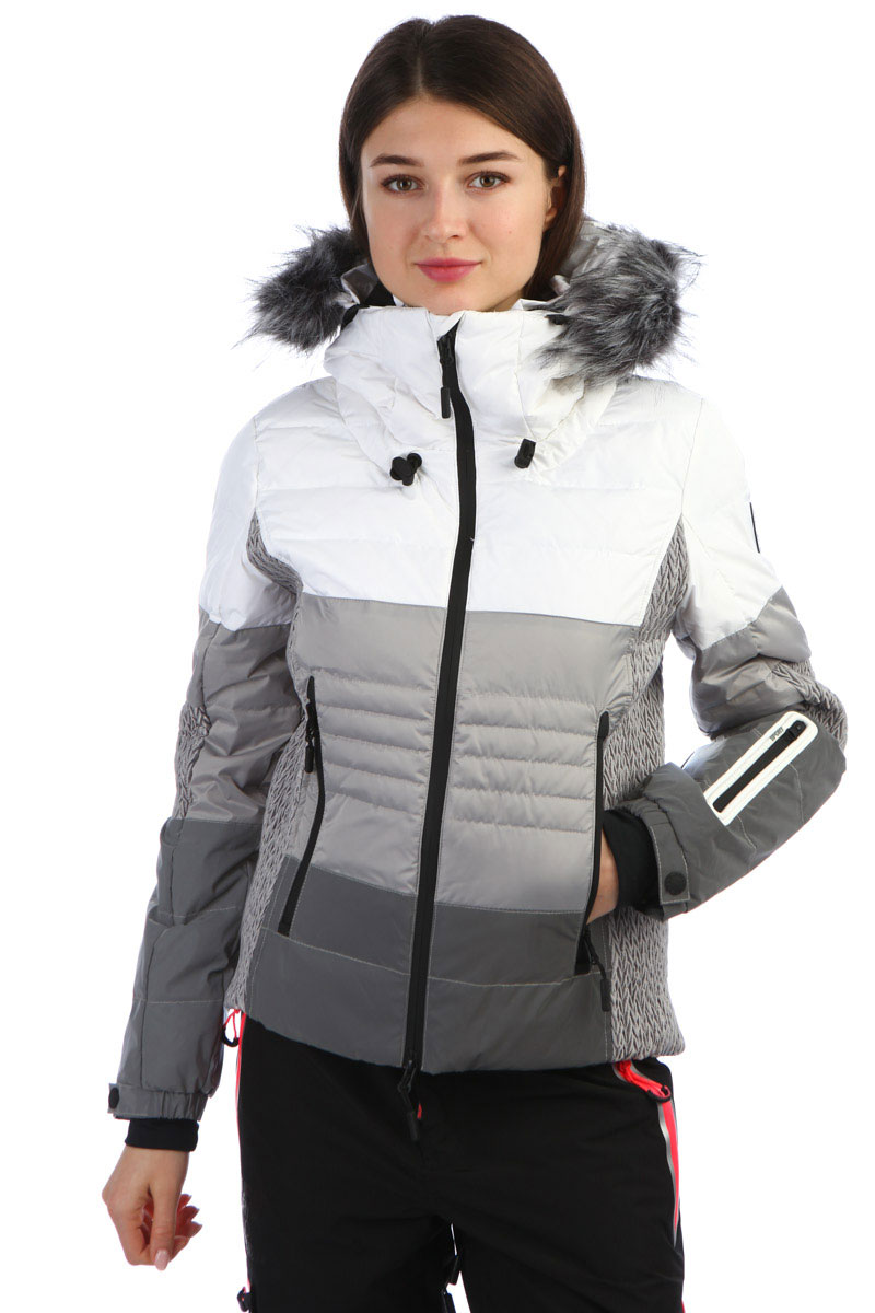 03265f96a6 Купить куртку женскую SuperDry Sport Snow Cat Ski Down Off White ...