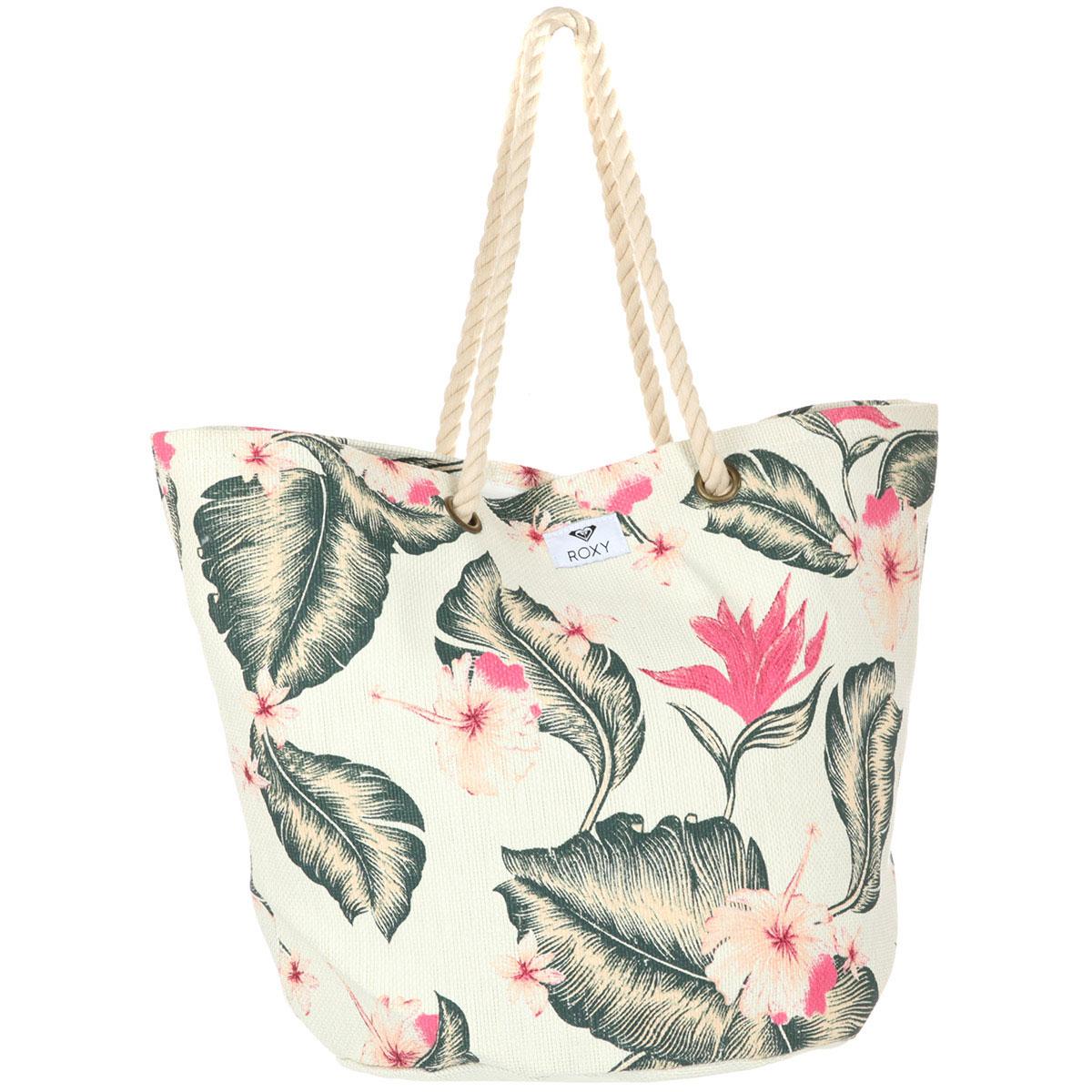 b244530d9779 Купить сумку женскую Roxy Sunseeker Marshmallow Tropical (ERJBT03121 ...