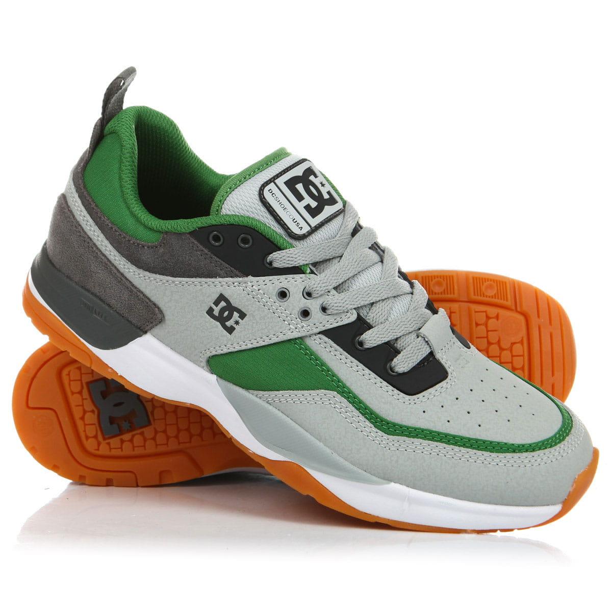 a945e325 Купить кроссовки Dс E.tribeka Grey/Green (ADYS700173-GGB) в интернет ...