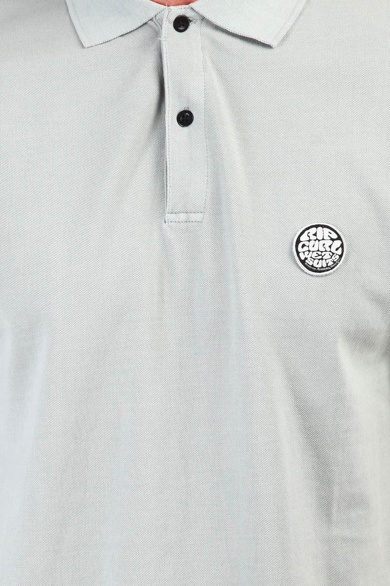 582b9b7066778 Купить поло Rip Curl Original Wetty Ss Polo Grey (CPLBI4-80) в ...