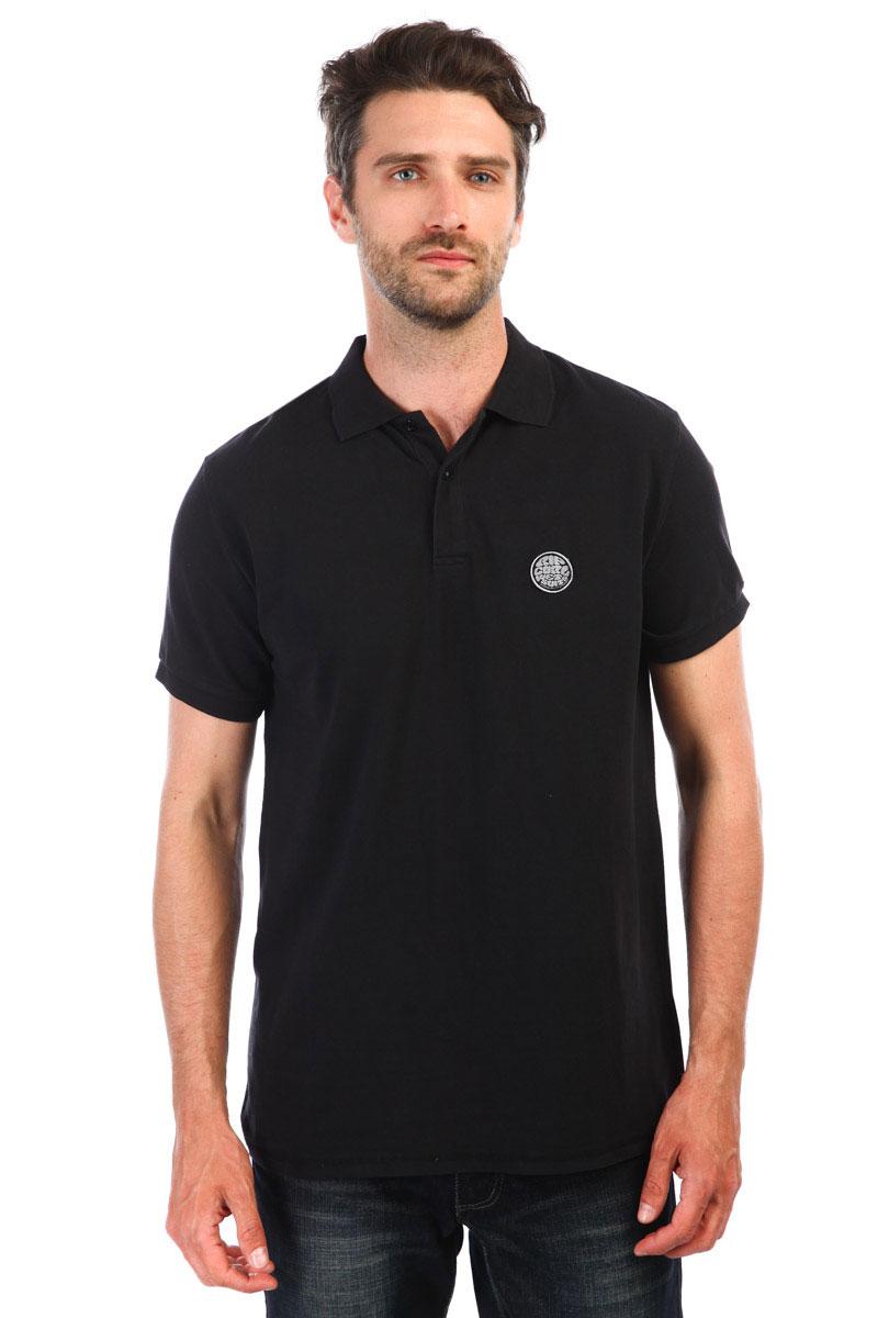 ebe57ad24d76a Купить поло Rip Curl Original Wetty Ss Polo Black (CPLBI4-90) в ...