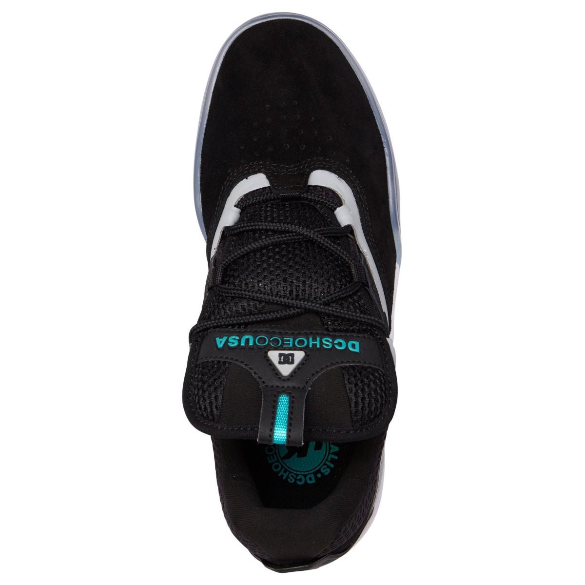 Scarpe DC Shoes Kalis SE Black Green Grey Scarpe Sportive da Skateboards