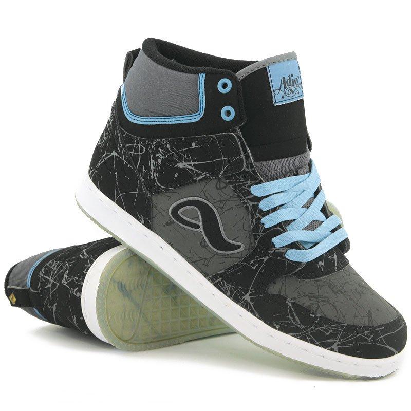 3451d338 Купить обувь кеды кроссовки Adio Ruckus Black/Grey/Blue ...