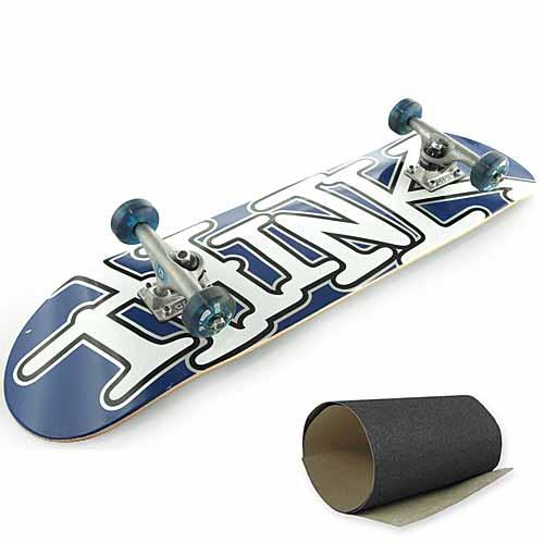 Скейтборд в сборе Think Basic Blue Design 1