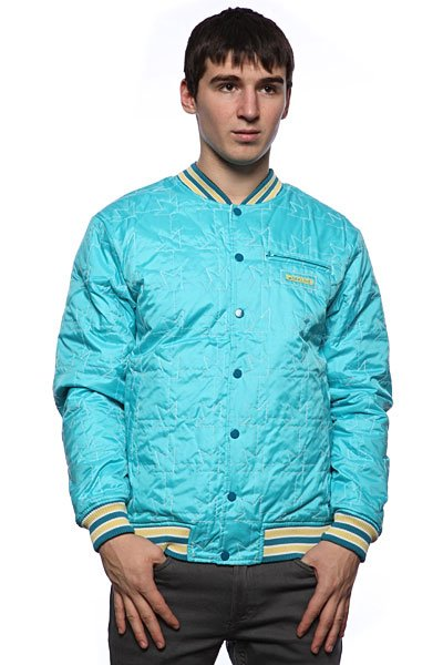 Куртка бомбер Dekline Team Jacket Blue/White