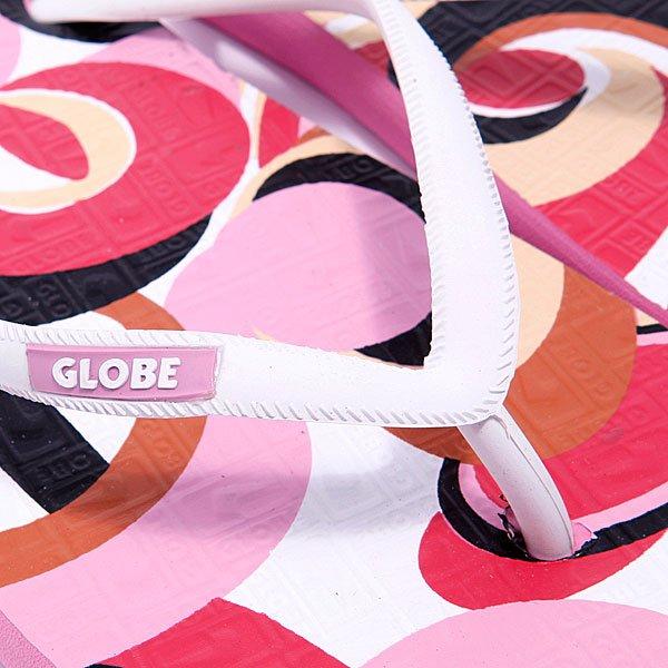 Шлепанцы женские Globe Swirl-Girls Pink