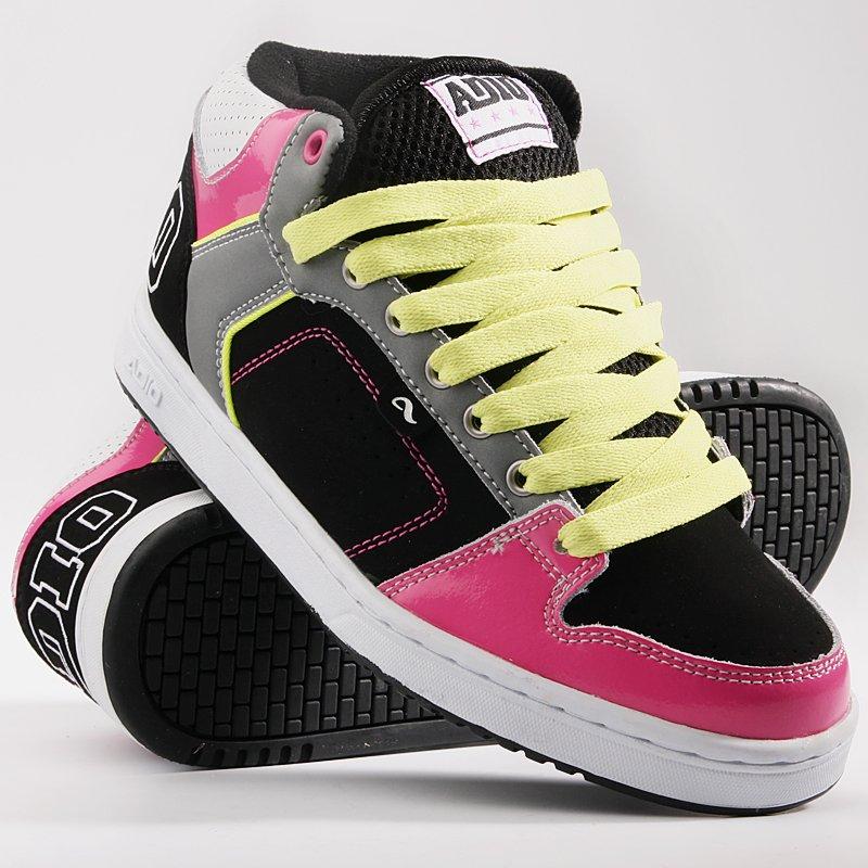 Обувь женская Adio Kingsley Black/Grey/Pink