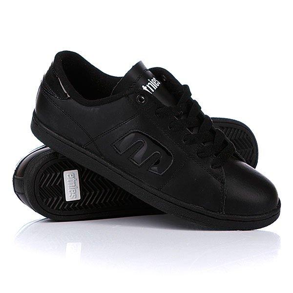 Кеды кроссовки женские Etnies Santiago Black/White