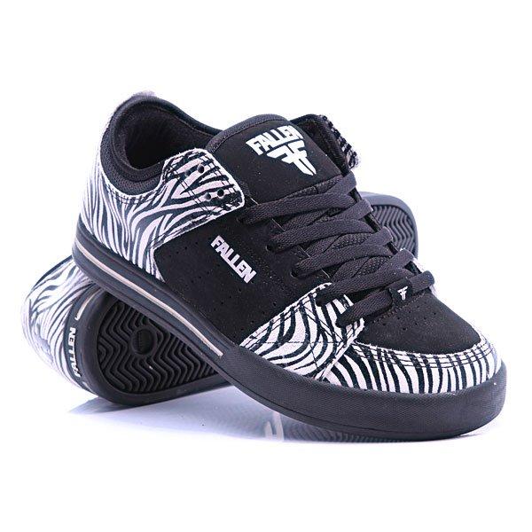e75d4a3d Купить кеды Fallen Trooper SE Black/White/Zebra (230410fallen50) в ...