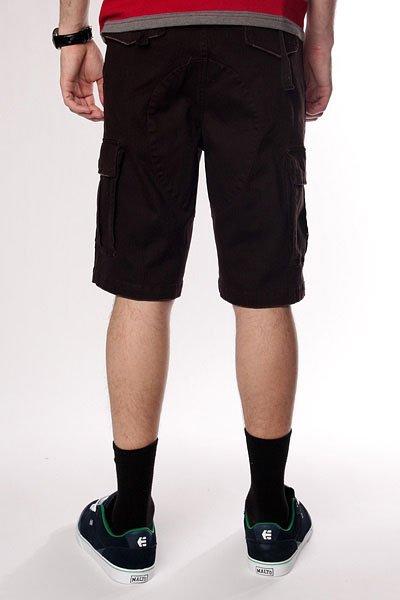 Классические мужские шорты Fallen Thomas Sign Cargo Short Dk.Chocolate