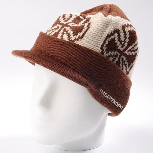 Шапка Independent Crosses Visor Chocolate/Parchment