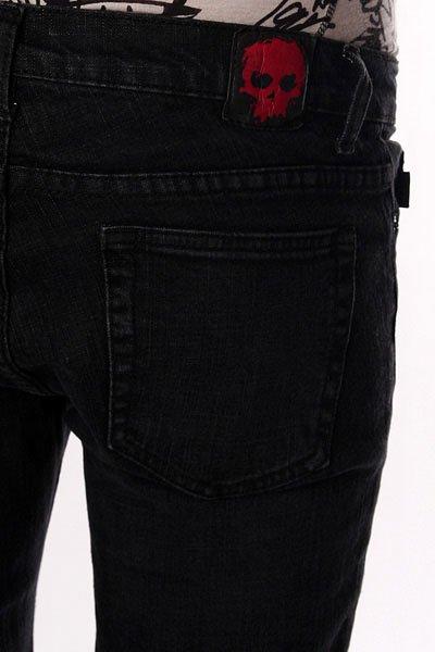 Джинсы узкие Zero Jeans Black