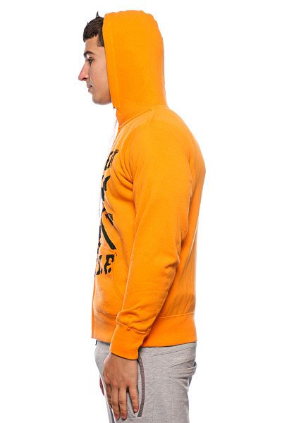 Толстовка Fallen Territory Zip Hood Orange/Black