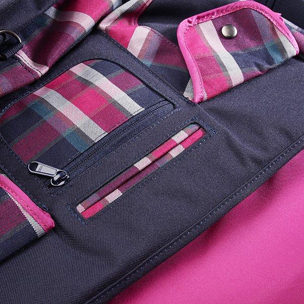 Сумка женская Dakine Girls Messenger Bag Large Vivienne Plaid / Navy
