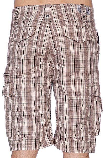Классические мужские шорты Zoo York Takedown Plaid Cocoa