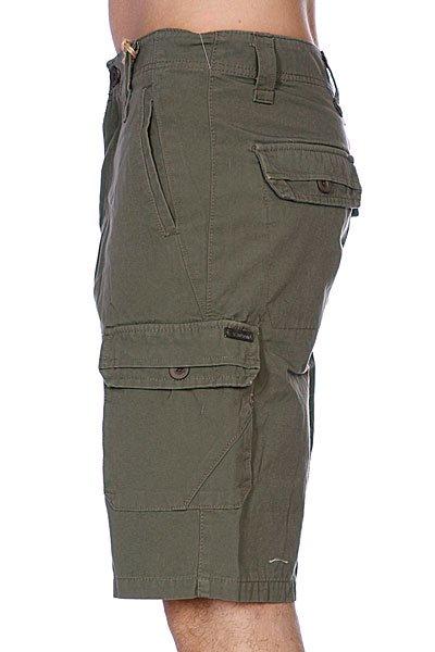 Классические мужские шорты Zoo York Bunker Cargo Drab