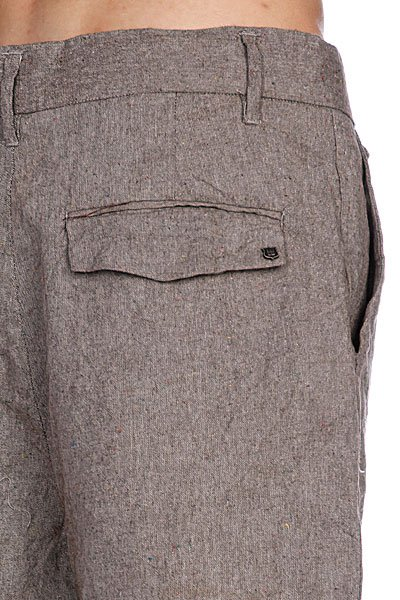 Классические мужские шорты Insight Sartorial Mid Grey Slub