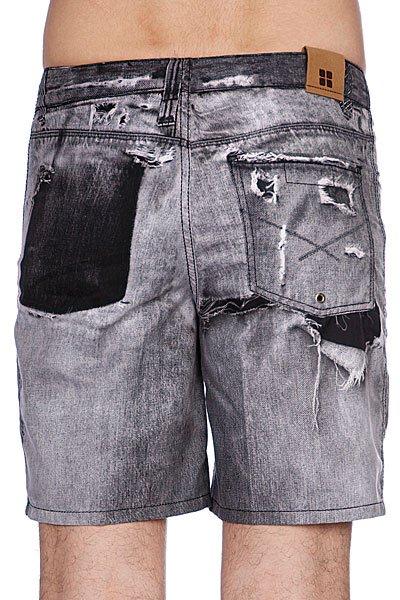 Пляжные мужские шорты Insight Stone Free Black