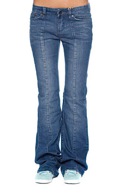 Джинсы прямые женские Insight Pistol Flare Leon Skin Blue