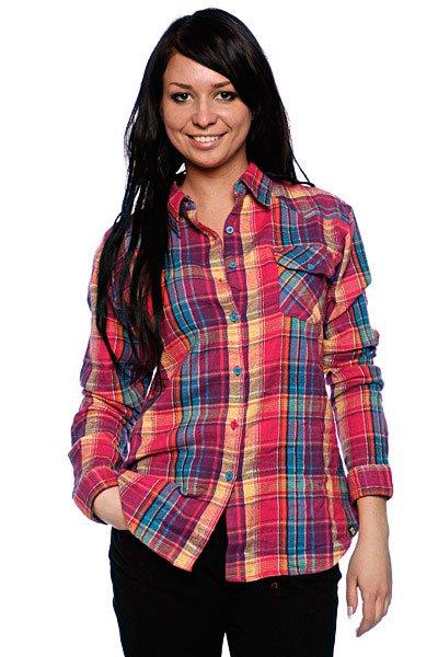 Рубашка женская Insight Flanno Kiddo Orange