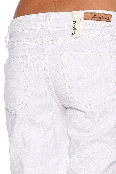 Джинсы узкие женские Zoo York Skinny Fit White