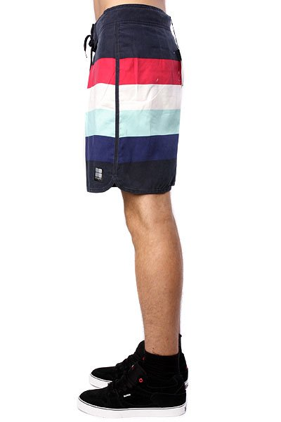 Пляжные мужские шорты Insight Retro Stud Mid Tip Tip Blue