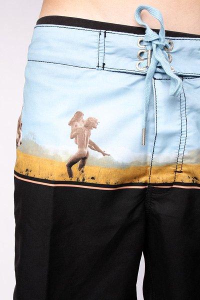 Пляжные мужские шорты Insight Reckless Youth Mid Nude Black