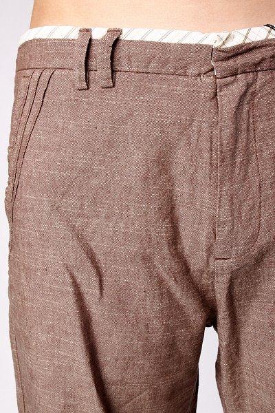 Классические мужские шорты Insight Exiled Brown Slub