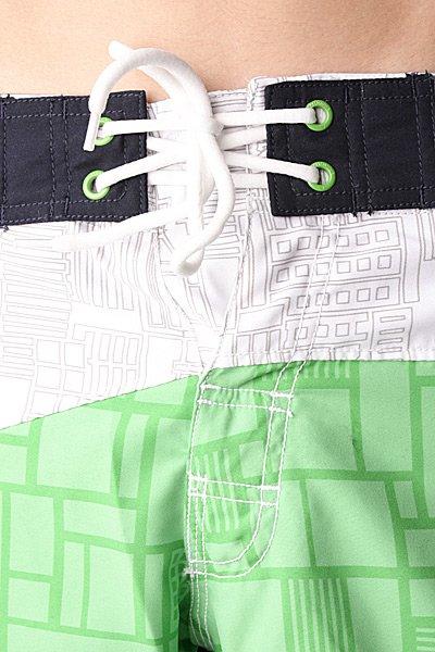 Пляжные мужские шорты Zoo York Geo Boardshorts Verde