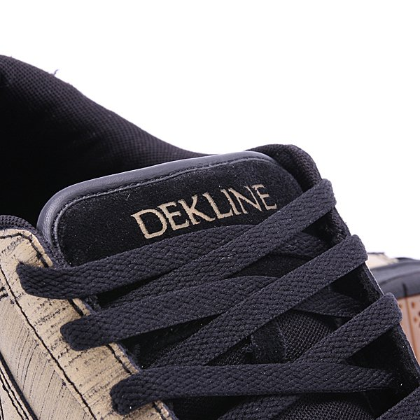 Кеды низкие Dekline Logan Gold/Black Scratchatch