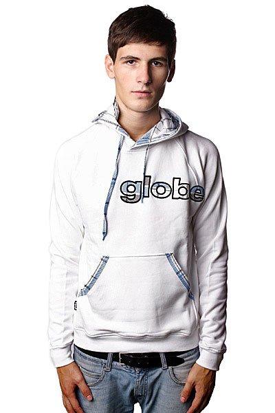 Толстовка Globe Mix Up Plaid Hooded Sweat White