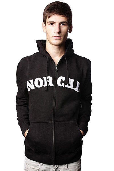 Толстовка Nor Cal Nautical Applique Black