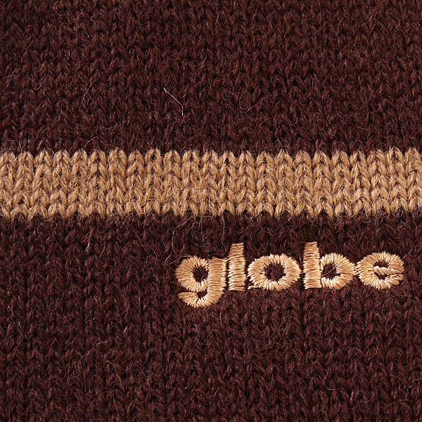 Шарф Globe Tristripe Scarf Chocolate