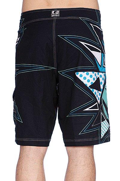 Пляжные мужские шорты Globe Fire Cracker Boardie Black